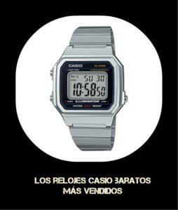 ce2bb34a9891 Los mejores Relojes Casio baratos - Para hombres y mujeres