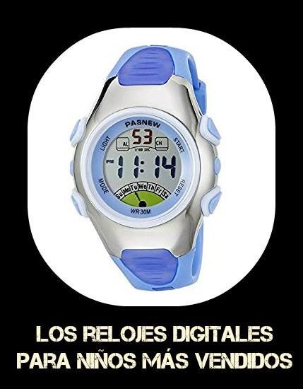6833e70bf4a7 RELOJES DIGITALES PARA NIÑOS - Los 9 mejores relojes digitales para ...